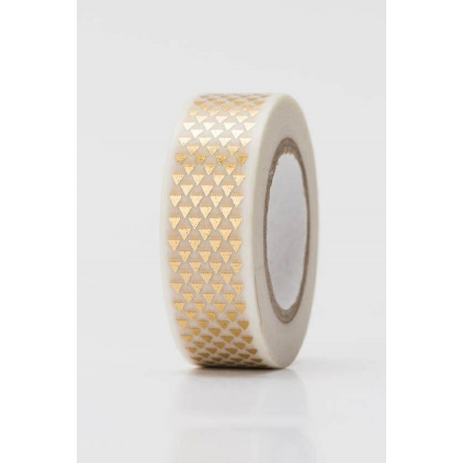 Tape triangles or - hot foil