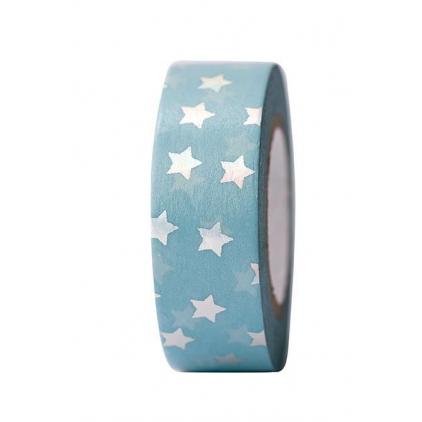 Tape étoiles irisés - hot foil 35.16