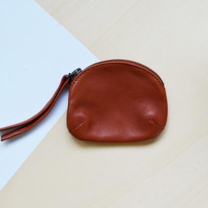 porte-monnaie PM brun