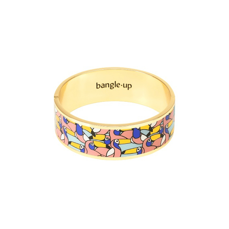 Bracelet Jangala Urban Jungle 2cm - Blush pink Taille 1
