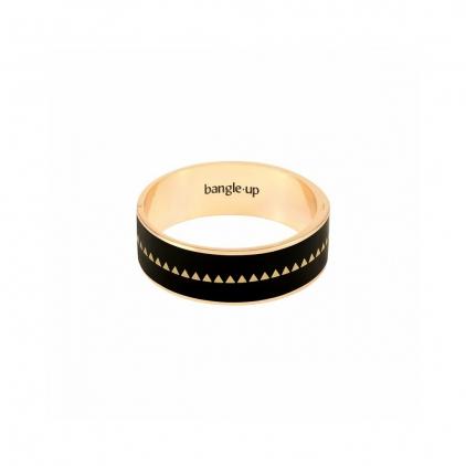 Bracelet Bollystud 2cm métal doré - Noir Taille 2