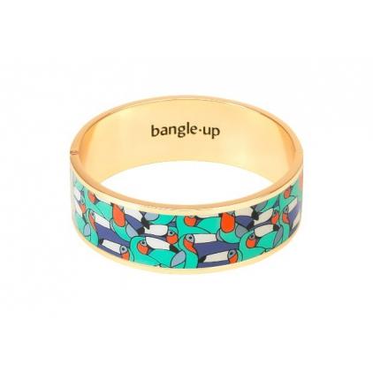 Bracelet Jangala Urban Jungle 2cm - Pool blue Taille 1