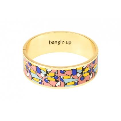 Bracelet Jangala Urban Jungle 2cm - Blush pink Taille 2