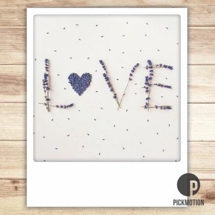 Carte postale Love ZG0143EN