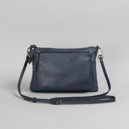 Manon - sac cuir vachette denim