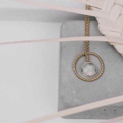 Collier Jala plaqué or taille 52 - 10448 Amulette
