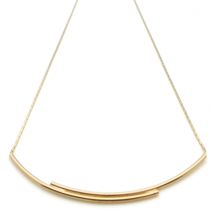 Collier Enlace-moi champagne