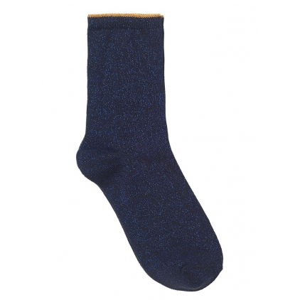 Chaussettes Diana - Metallic blue 39/41
