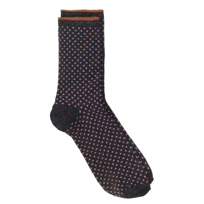 Chaussettes Dina Small Dots Collection - Fuschia pink 39/41