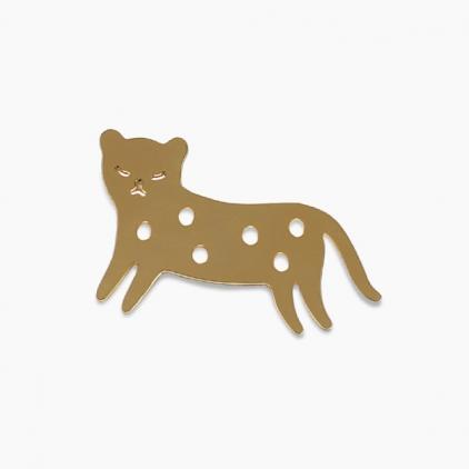 Pin's guépard