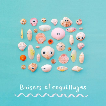 Carte postale Baisers et coquillages ZG0595FR