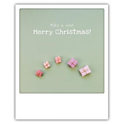 Carte postale Warm wishes pine cone XM0183EN
