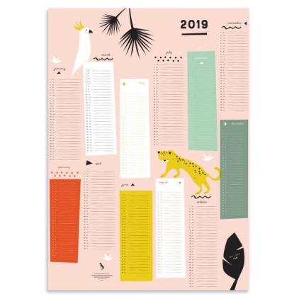 2019 Year Planner