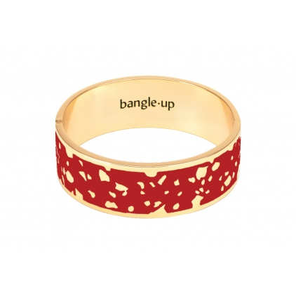 Bracelet Lucy 2cm - Rouge velours Taille 1