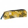 Trousse à crayons enduite jaune - tropic MI M008