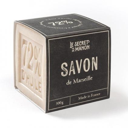Savon de Marseille naturel cube 300 gr