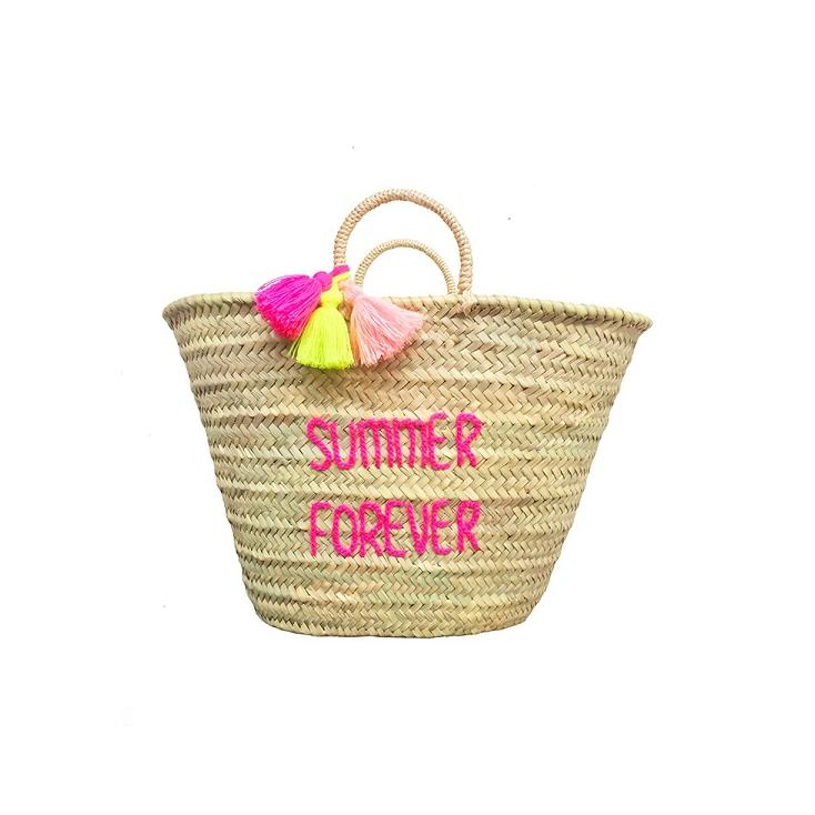 Panier mum brodé pour adulte - Summer forever