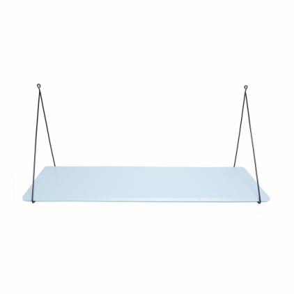 Etagère Babou 1 - 24 x 85 x 33 cm bleu d'hiver
