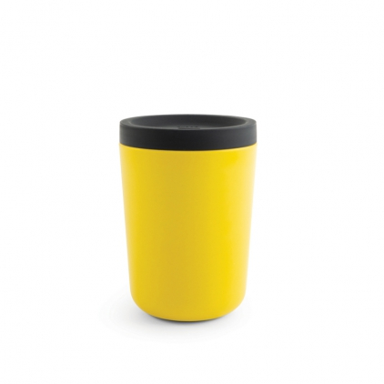 Biobu Go Reusable takeaway cup 350ml - lemon