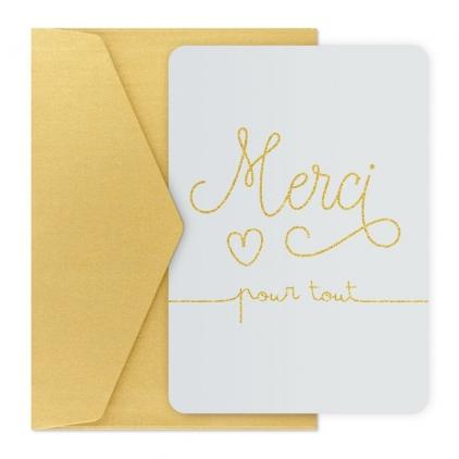 Carte postale - Merci