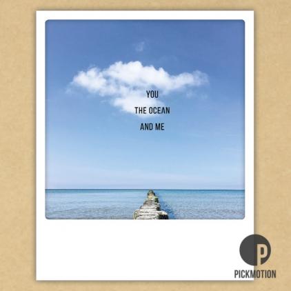 Carte postale You, the ocean and me ZG0483EN