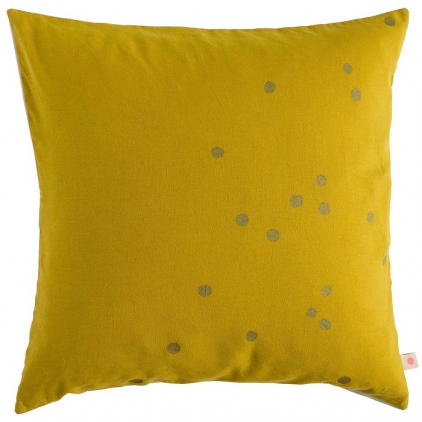 Cushion cover Lina Colombo gold dots 50