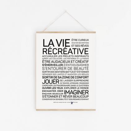Carte La vie récréative