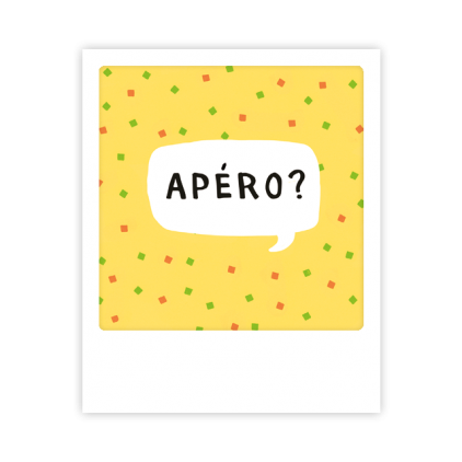 Mini carte postale Apéro MP0365FR