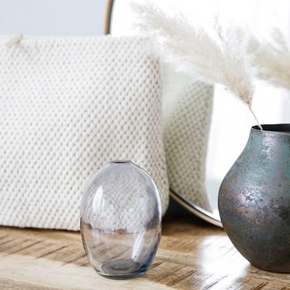 Vase Sandra grey grand