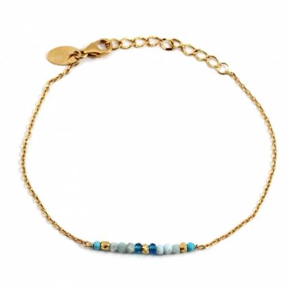 Bracelet Friandise turquoise africaine