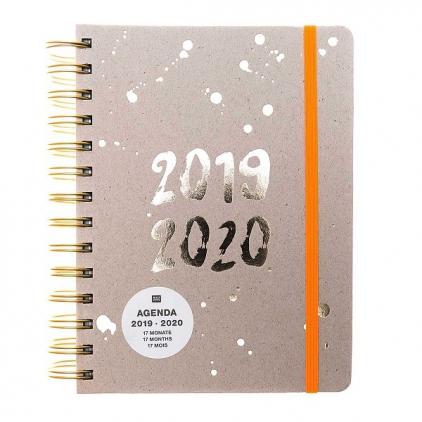 Agenda petit 2019-2020 - Gris