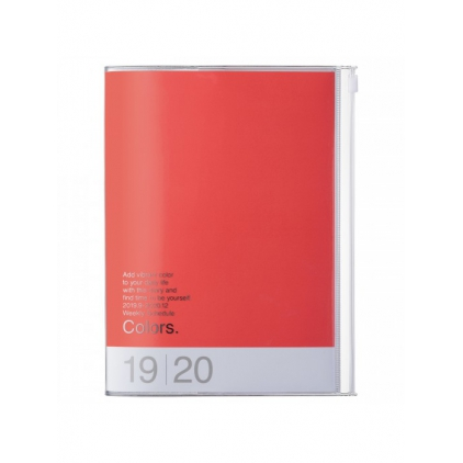 Agenda Colors A5 Red pink