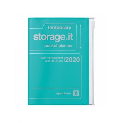 Agenda Storage A6 Turquoise