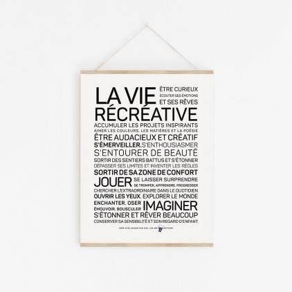Affiche  La vie récréative A2
