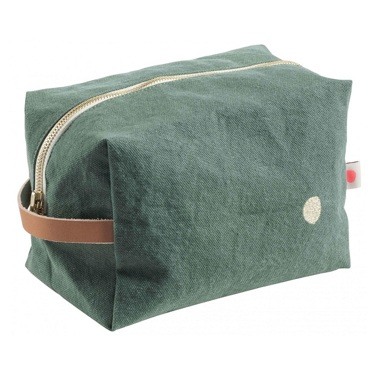 Pouch cube Iona sauge GM