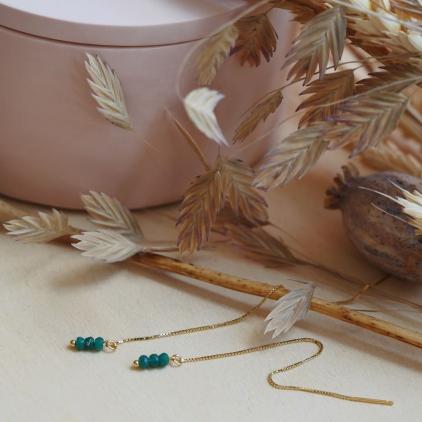 Petites chaines amovibles pour boucles Joséphine - 10577 amulette