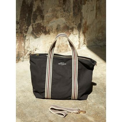 Cabas coton Clea plain - Black