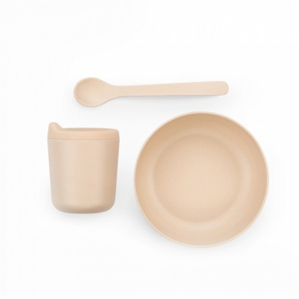 Biobu bambino baby dish set - Blush
