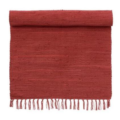 Tapis 70 x 130 cm Chindi Scarlet