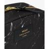 Pochette maquillage grande - Black marble