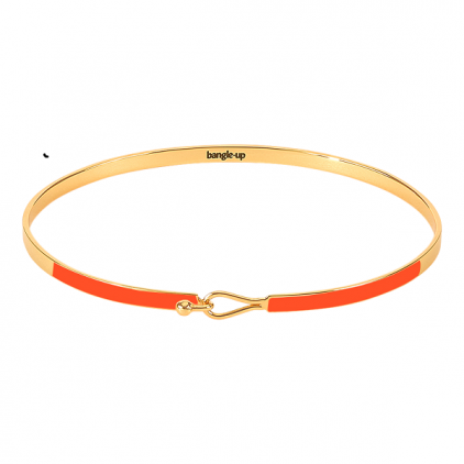 Bracelet Lily 0,3cm métal doré- Tangerine