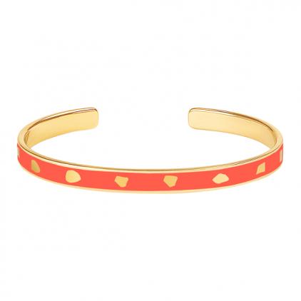 Bracelet Jude métal doré-paprika