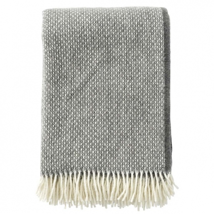 Plaid - Freckles granite - woven 100% lambs wool