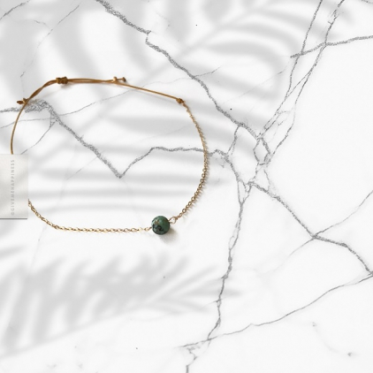 Bracelet Turquoise - Communication & Protection