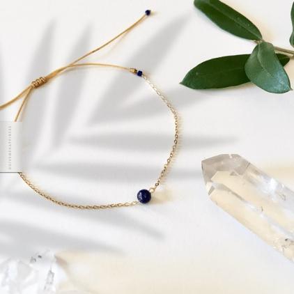 Bracelet Lapis-Lazuli - réalisation spirituelle & créativité
