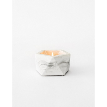 Vand Tealight - Airplant Holder - White Marble