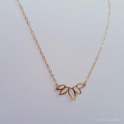 Collier Juliette - plaqué or