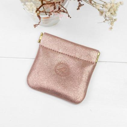 Porte monnaie - Clic Clac - Peach