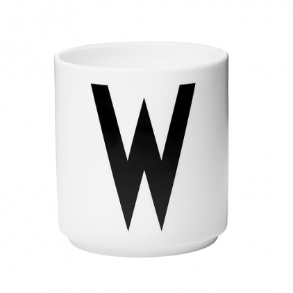 porcelain cup white Arne Jacobsen - W