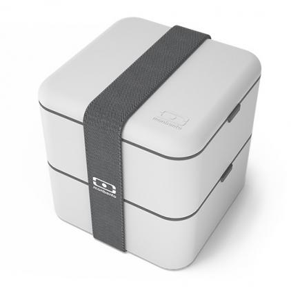 Boîte à bento carrée - coton - 120013110